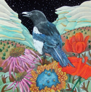 original nature mixed media by bj briner